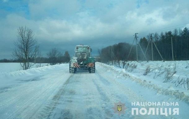 Во Львовской области частично перекрыли движение транспорта