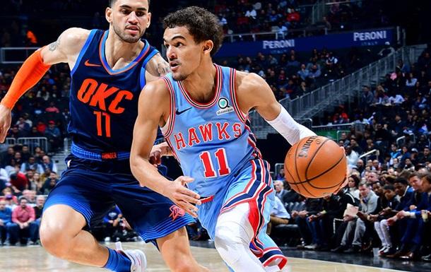НБА: Атланта обыграла Оклахому-Сити, Лейкерс - Чикаго