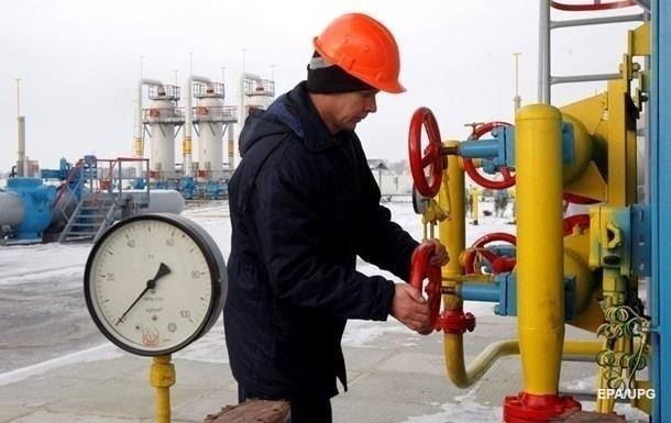 Газові сховища України заповнені на 40%