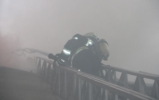Пожежу в центрі Києва ліквідували