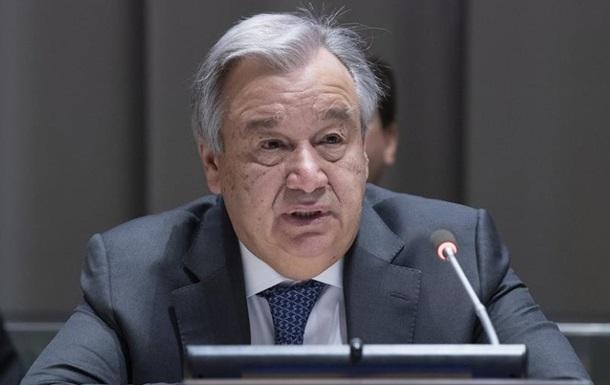 Україна не потрапила в пріоритети ООН на 2019 рік