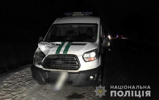 Під Києвом інкасаторське авто збило на смерть пішохода