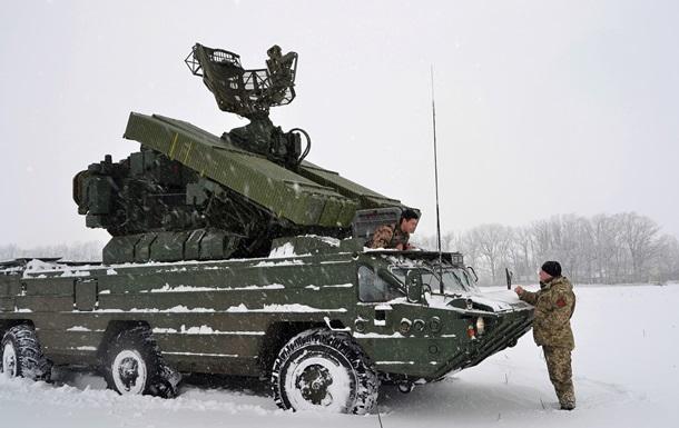 Українські військові відпрацювали відбиття повітряних атак