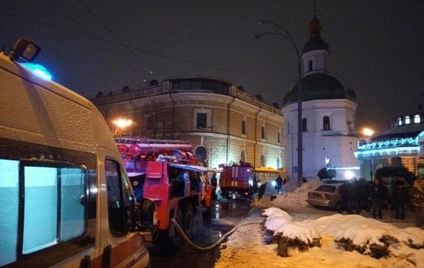 Суд арестовал подозреваемого в поджоге Киево-Печерской лавры