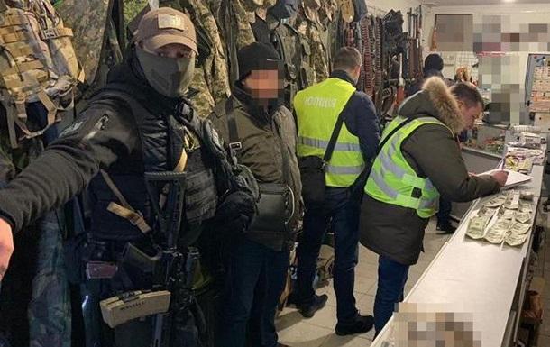 В Киеве задержали подозреваемого в торговле оружием