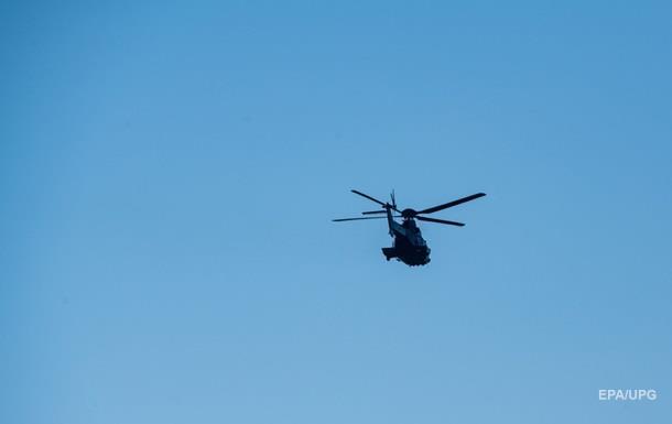 В Алма-Ате на территории санатория разбился вертолет: есть жертвы