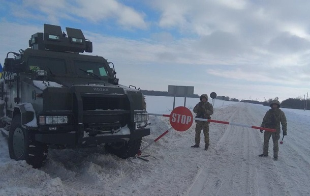 Погранслужба усиливает охрану границы с РФ и ЕС