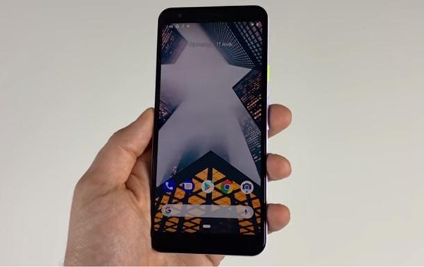 Дешевий  флагман Pixel 3 показали у відеоогляді