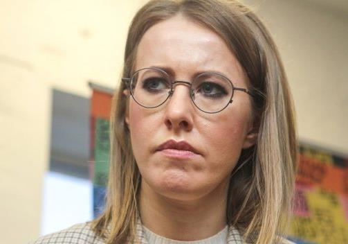 Зачем Собчак в Киев приехала