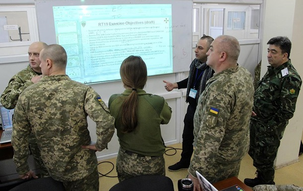 На Львовщине началась подготовка к новым учениям Rapid Trident