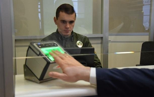 За рік біометрію на кордоні пройшли півмільйона росіян