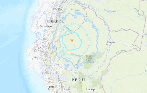 В Перу и Эквадоре зафиксировали сильные землетрясения