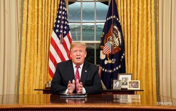 ЗМІ розкрили деталі звернення Трампа до нації