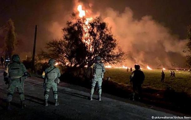 Мексика: число загиблих через вибух трубопроводу зросло до 73