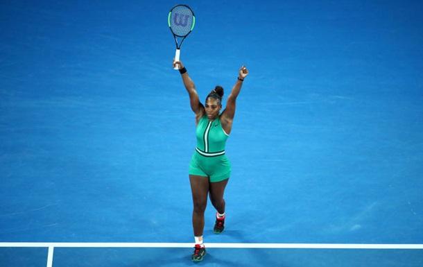 Уильямс обыграла Халеп в четвертом круге Australian Open