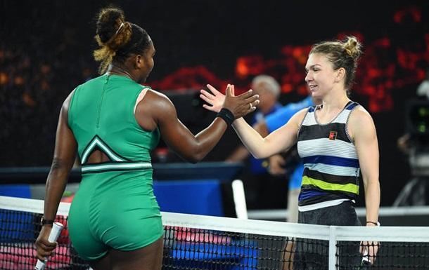 Победа Уильямс над Халеп стала ее 16-м триумфом над первой ракеткой