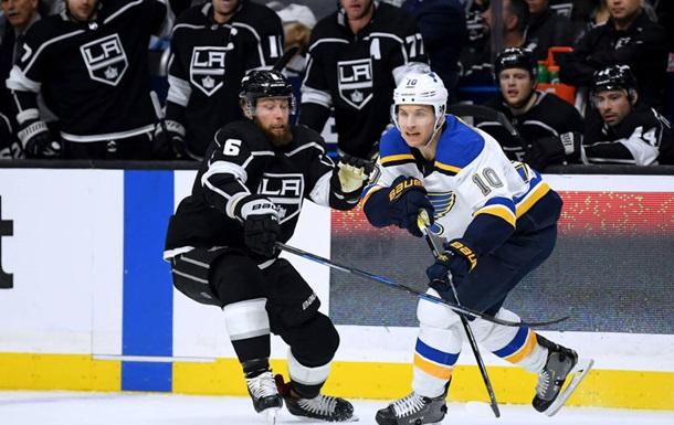 НХЛ: Лос-Анджелес обіграв Сент-Луїс, Міннесота зазнала поразки від Вегаса