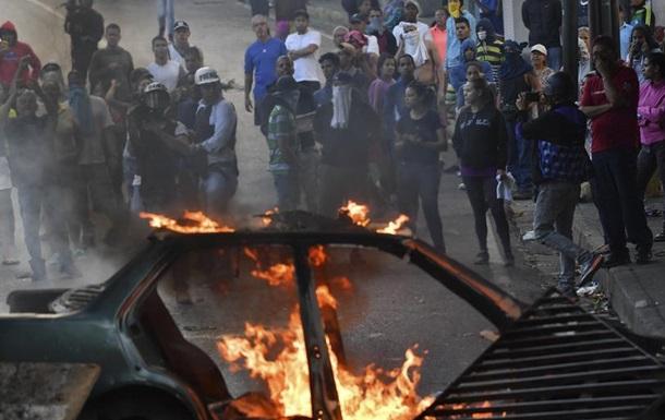 У Венесуелі придушили бунт групи національних гвардійців