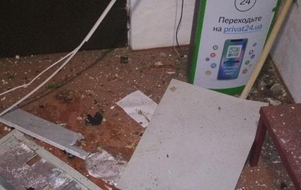 У Черкаській області підірвали банкомат