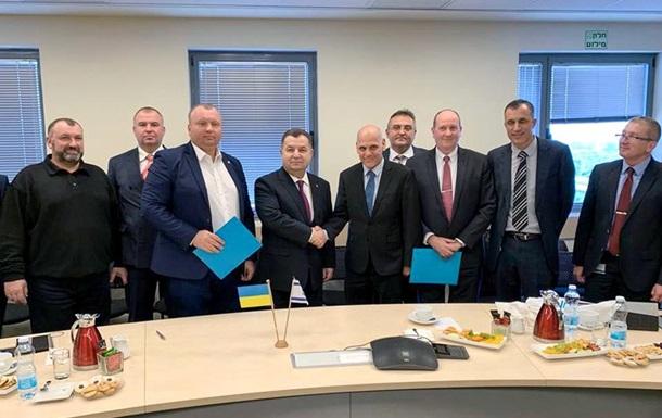 Україна й Ізраїль співпрацюватимуть у сфері озброєнь