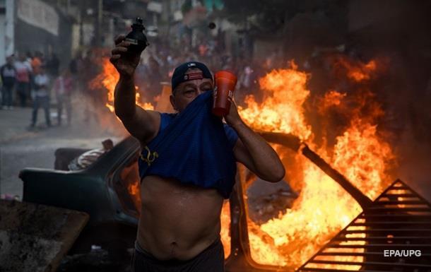 Военный переворот. В Венесуэле подавили бунт