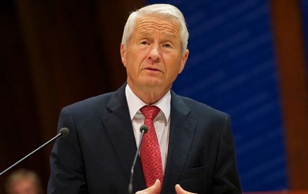 Ягланд предложил странам-членам СЕ заплатить за Россию