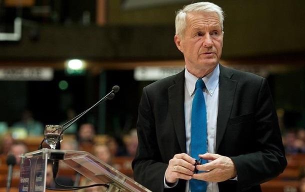 Голова Ради Європи вперше запросив українську делегацію