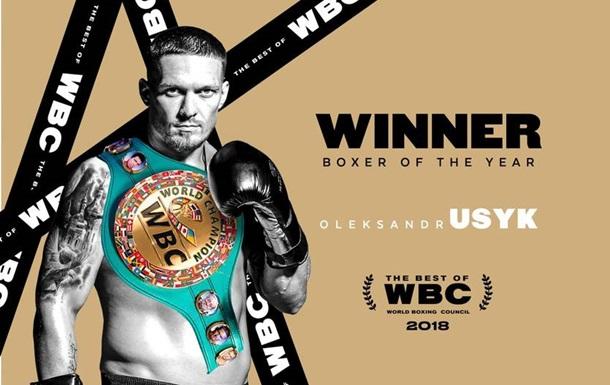 Усик - боксер року за версією WBC, Гвоздик став  відкриттям року