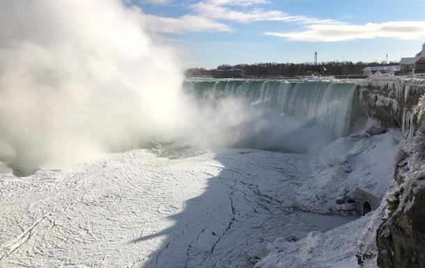 У США через холоди замерз Ніагарський водоспад