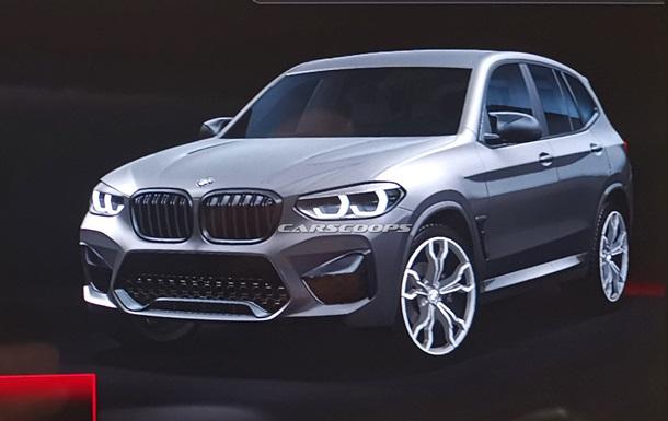 В Сеть  слили  фото серийного BMW X3 M