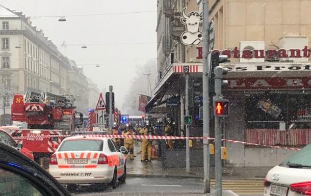 В ресторане Женевы произошел взрыв