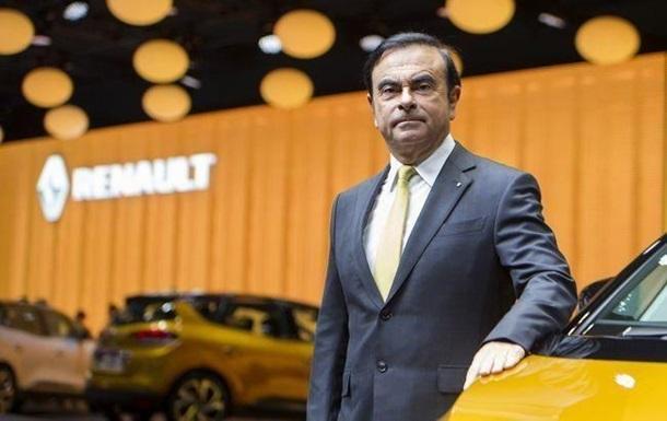 Гон подав у відставку з посади глави Renault