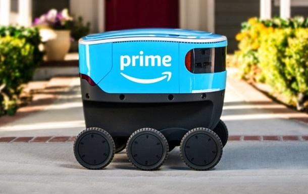 Робот-курьер Amazon начал доставлять покупки