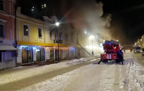 В Киеве произошел пожар в ресторане