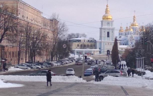 В Киеве на выходных частично перекроют движение на Крещатике