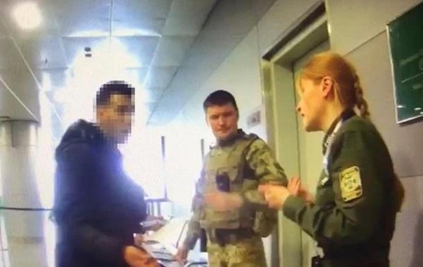 В аеропорту Бориспіль іноземець напав на прикордонника