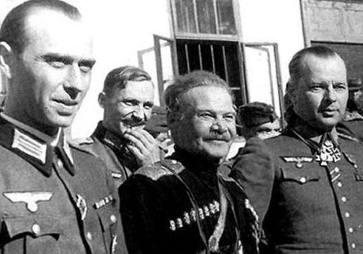 Российские казаки, украинские националисты и Вермахт