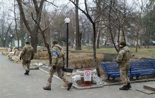 В Одессе представители Минобороны силой заняли санаторий