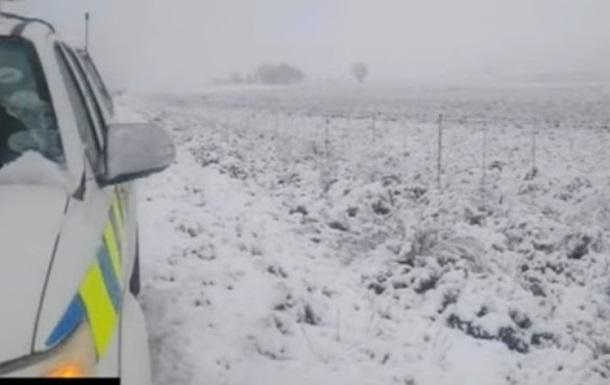 Два человека погибли в Тунисе из-за снега