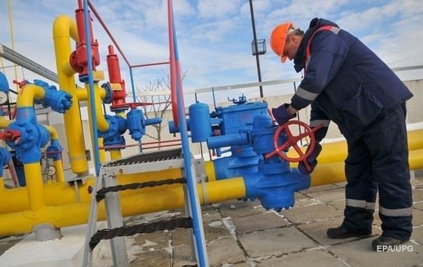 Запасы газа в ПХГ Украины сократились до 37%