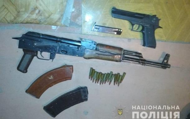В Кривом Роге задержали нарколедьца с арсеналом оружия