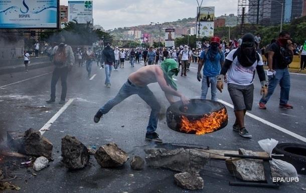 Протесты в Венесуэле: задержаны 500 человек