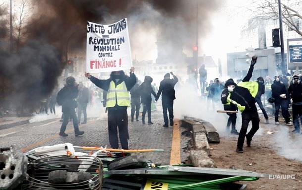 Протести в Парижі: більше 50 затриманих