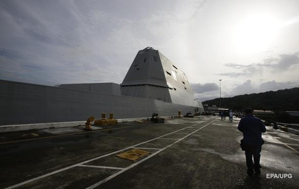 ВМС США пополнил ультрасовременный стелс-эсминец