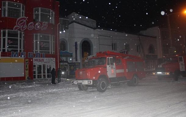 В Каменец-Подольском произошел пожар в отеле