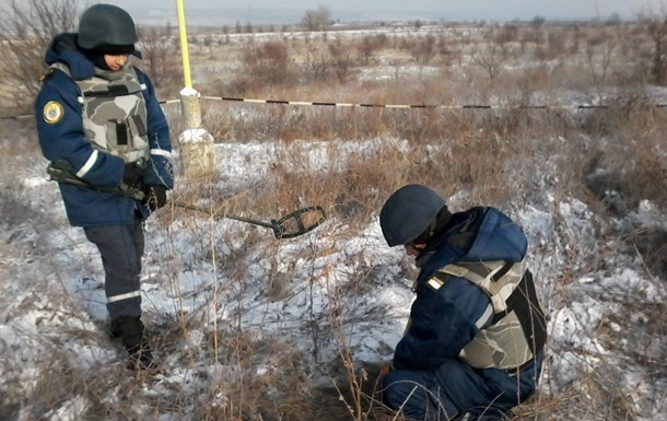 На Донбассе очистили от мин почти 45 га за неделю