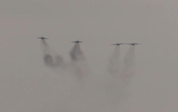 Военные летчики провели тренировку в зоне ООС