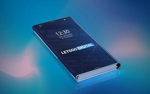 Intel розробляє гнучкий смартфон-призму з пером