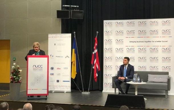 Украина и Норвегия подписали контрактов на $1,5 млрд - Гройсман