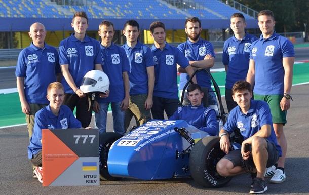 В Киевском политехе студенты собирают спортивные автомобили